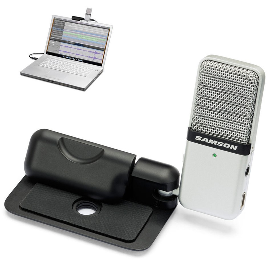 Samson Go Mic Usb Professional Hi Quality Microphone For Computer Pc/Mac