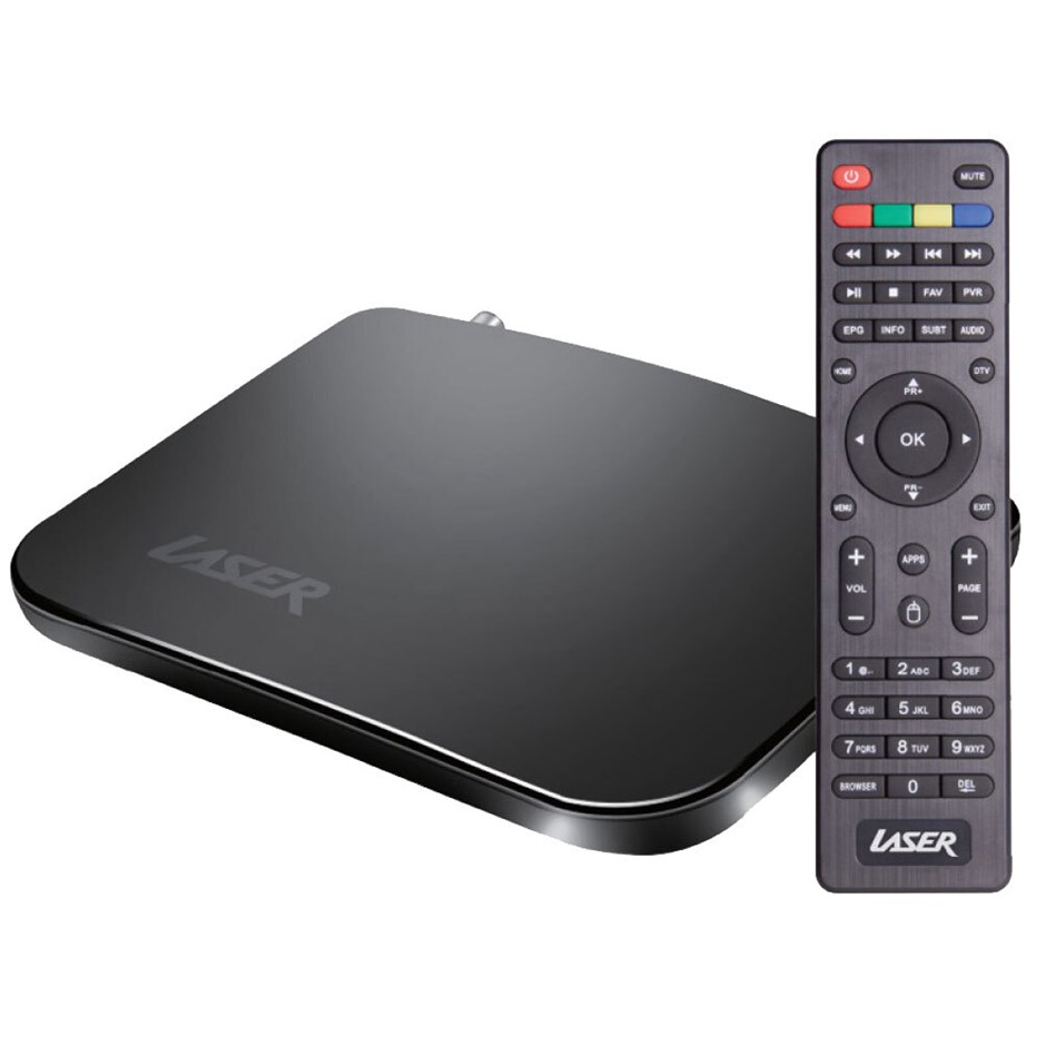 Laser Set Top Box & 4K Media Player