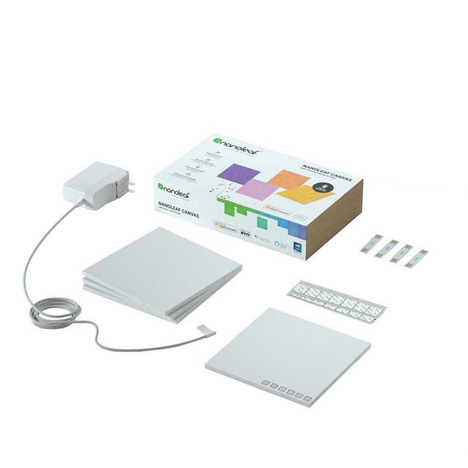 4pc Nanoleaf Canvas Smarter Kit Mini