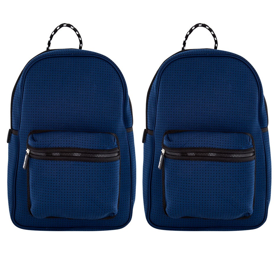 2PK Urban Status Neoprene Backpack - Navy