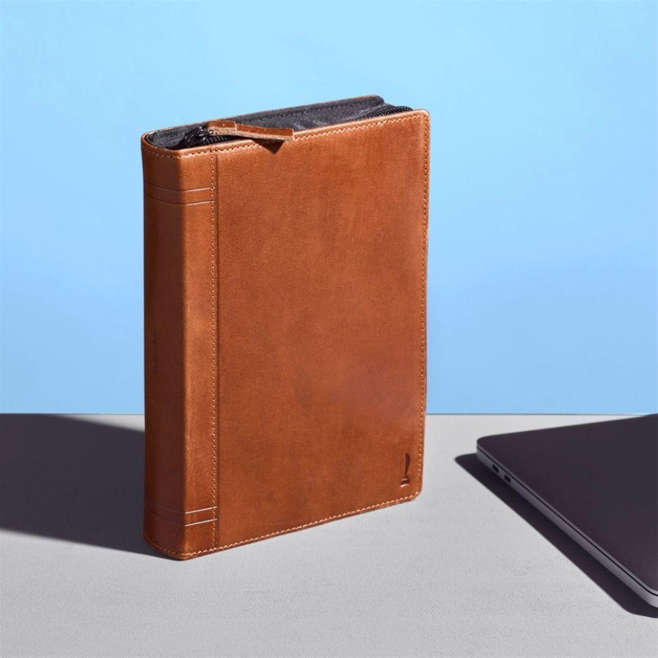 Twelve South Journal CaddySack (Cognac)