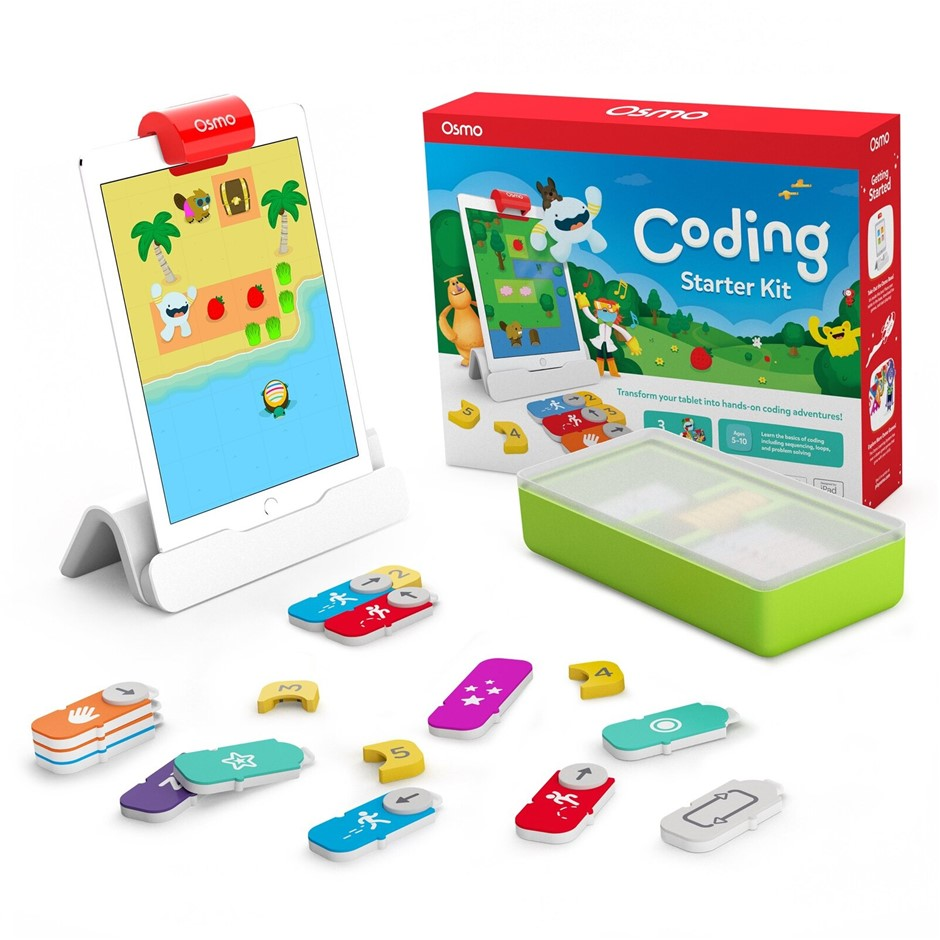 Osmo Coding Starter Kit for iPad for Ages 5-12 (Osmo Base included)