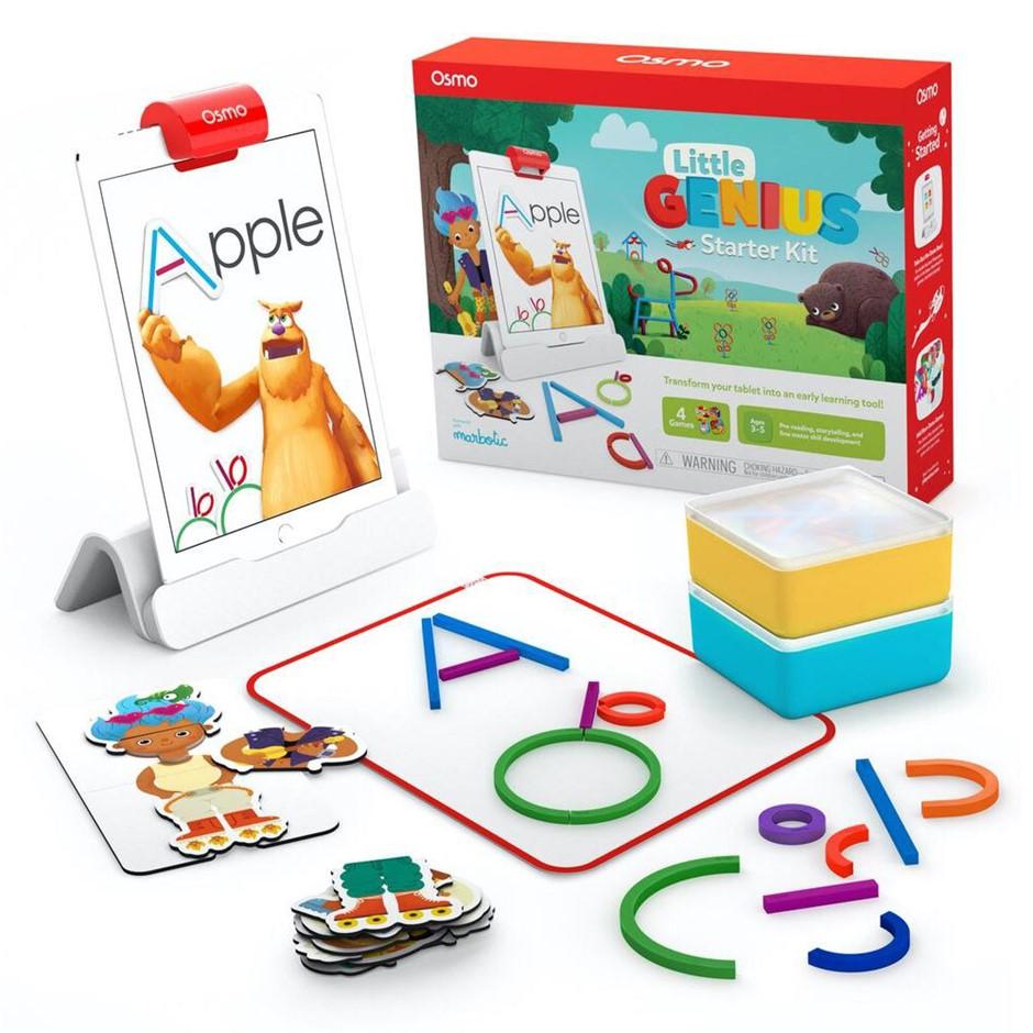 Osmo Little Genius Starter Kit 4 Games for iPad