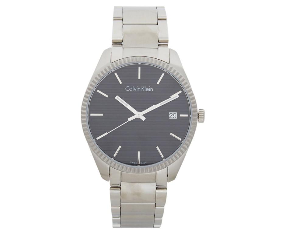 Calvin Klein Men's 40mm Alliance Watch - Silver/Black