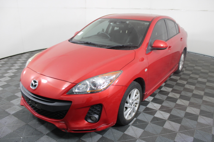 2013 Mazda 3 Maxx Sport BL Manual Sedan