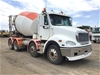 2014 Freightliner CL112 Columbia 8 x 4 Concrete Agitator Truck