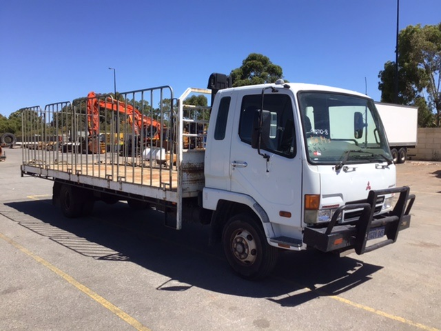 2004 Mitsubishi FK600 Fighter 4 x 2 Tray Body Truck