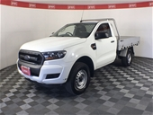2017 Ford Ranger XL 4X2 Hi-Rider PX II T/D Auto Cab Chassis