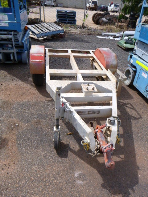 2012 Auswide Equipment Plant Trailer Small Plant Trailer