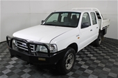 2004 Ford Courier GL (4x4 TIP TRAY) - PG Turbo Diesel Man