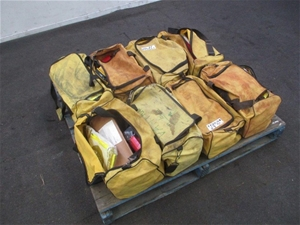 Pallet of 8 Part Bags of Various Safety
