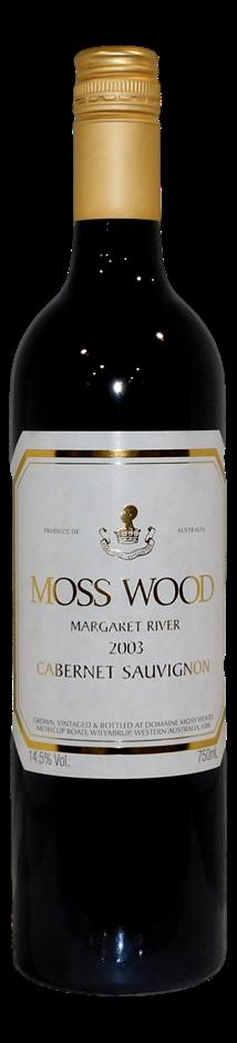 Moss Wood Cabernet Sauvignon 2003 (6x 750mL)