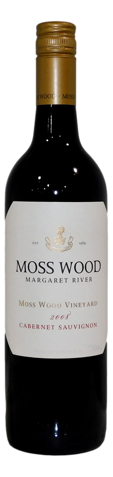 Moss Wood Cabernet Sauvignon 2008 (6x 750mL)