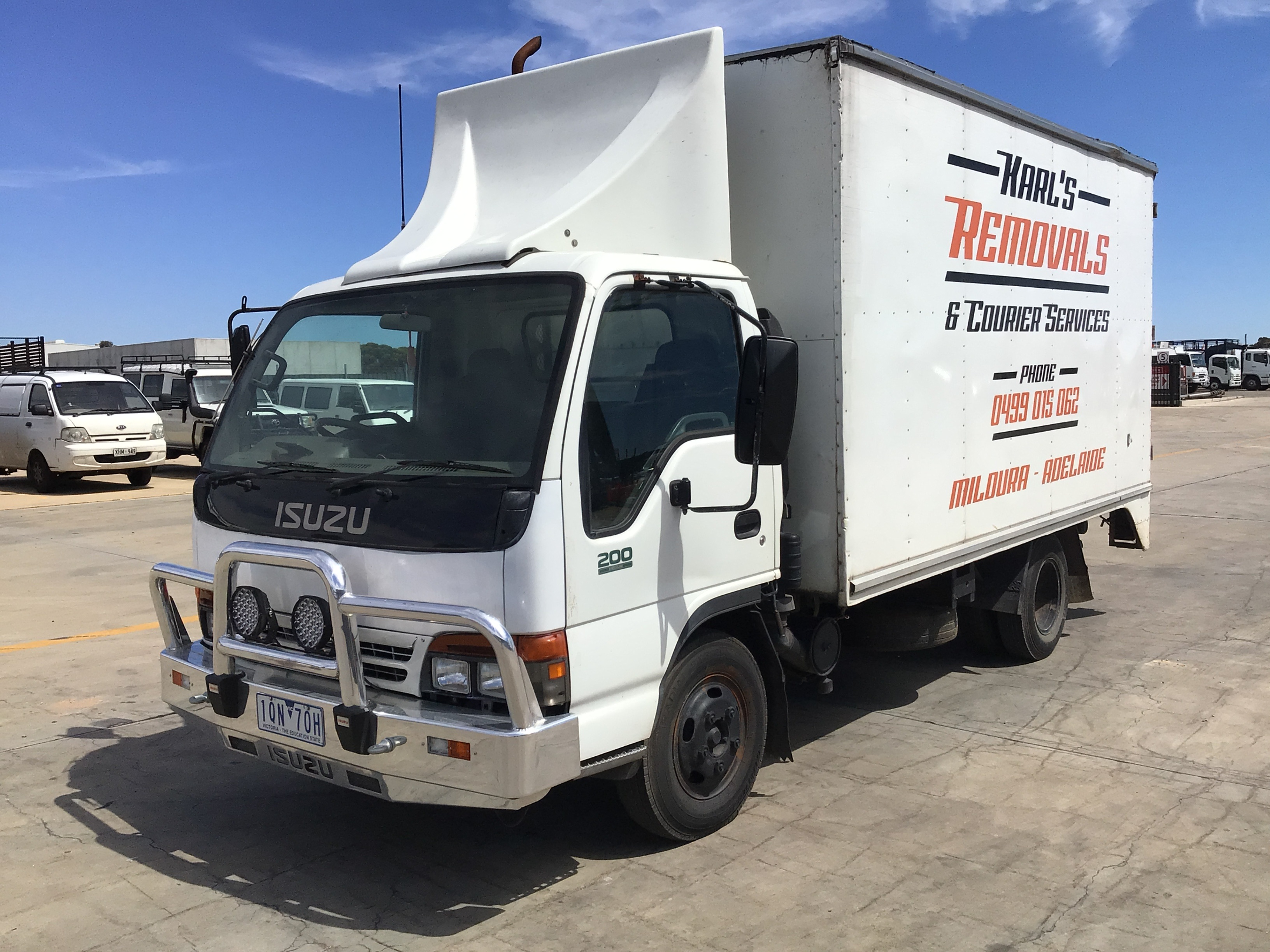 1994 Isuzu NPR250 4 x 2 Pantech Truck (Pooraka, SA)