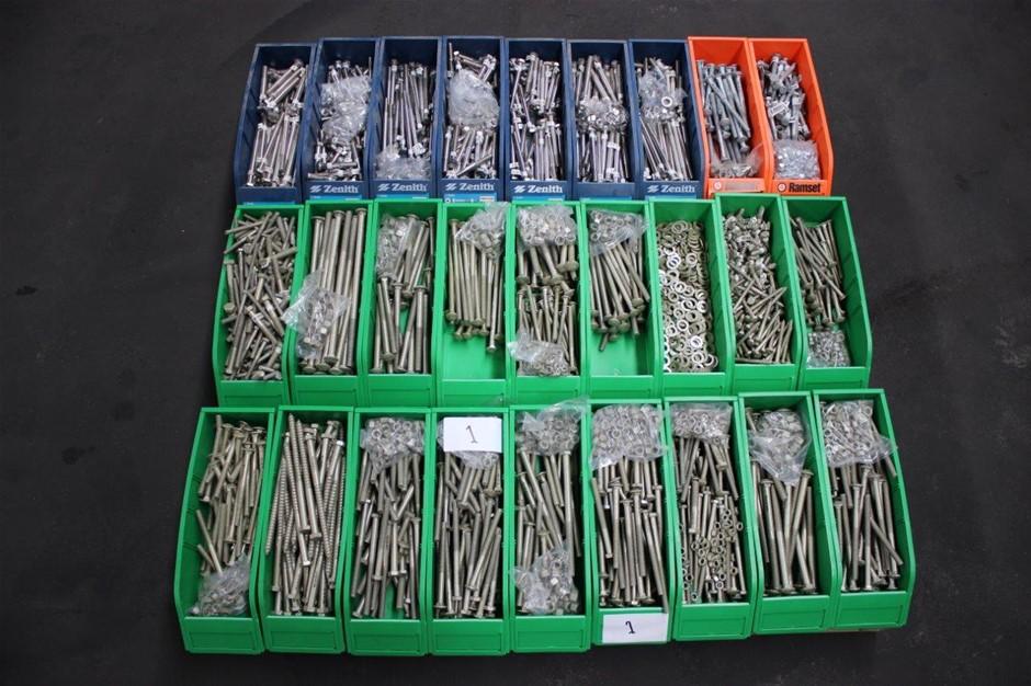 ZENITH 8-10 X 65MM DECKING SCREWS STAINLESS STEEL 304 TYPE 17