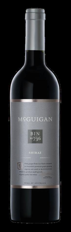 Plt of 84x Ctns - McGuigan Bin 736 Shiraz 2015 (6 x 750mL) SA
