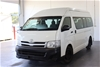 2011 Toyota Hiace Commuter KDH223R Turbo Diesel Manual 13 Seats Bus