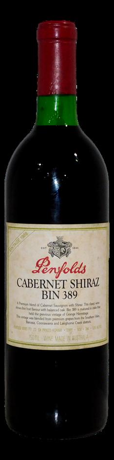 Penfolds Bin 389 Cabernet Shiraz 1988 (1x 750mL), SA