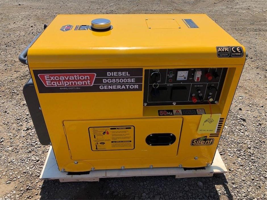 2020 Unused 6 kW Silenced Diesel Engine Generator
