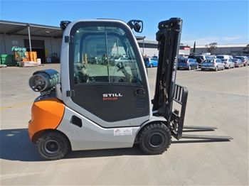 2010 Still RX70-25T 4 Wheel Counterbalance Forklift