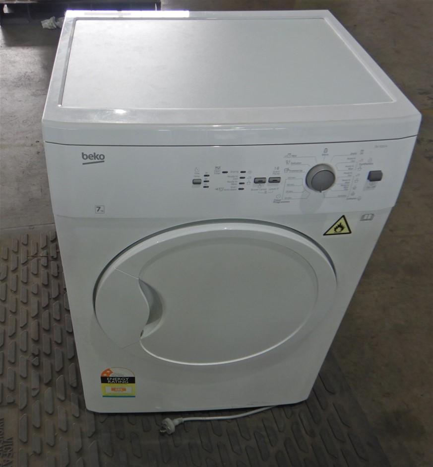 Beko DV7220X 7kg Sensor Control Vented Dryer (White) (Pooraka, SA)