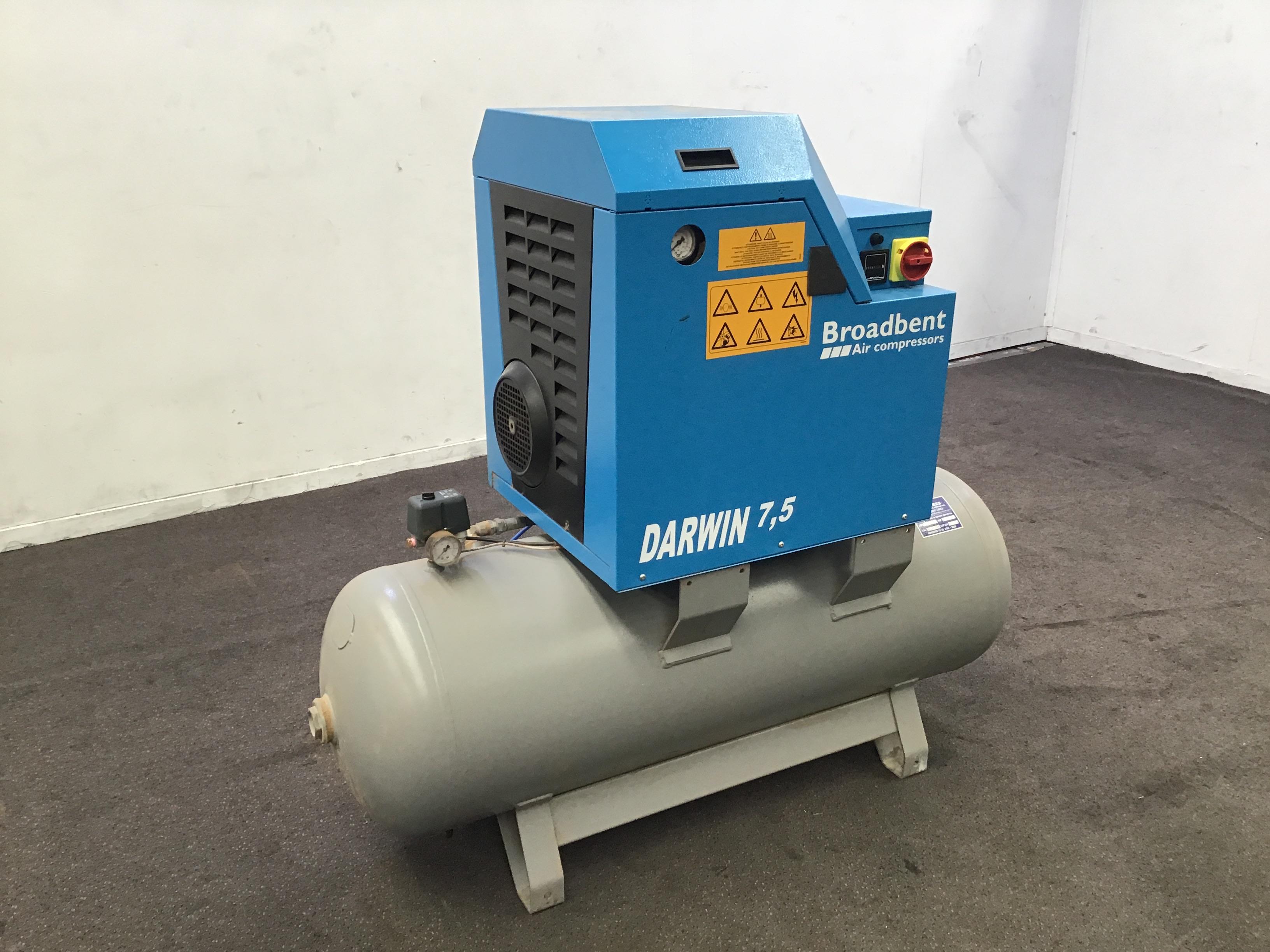 2014 Broadbent Air Compressor