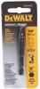 10 x DeWALT 1/4ins Hex Shank Socket Adaptors. Buyers Note - Discount Freigh