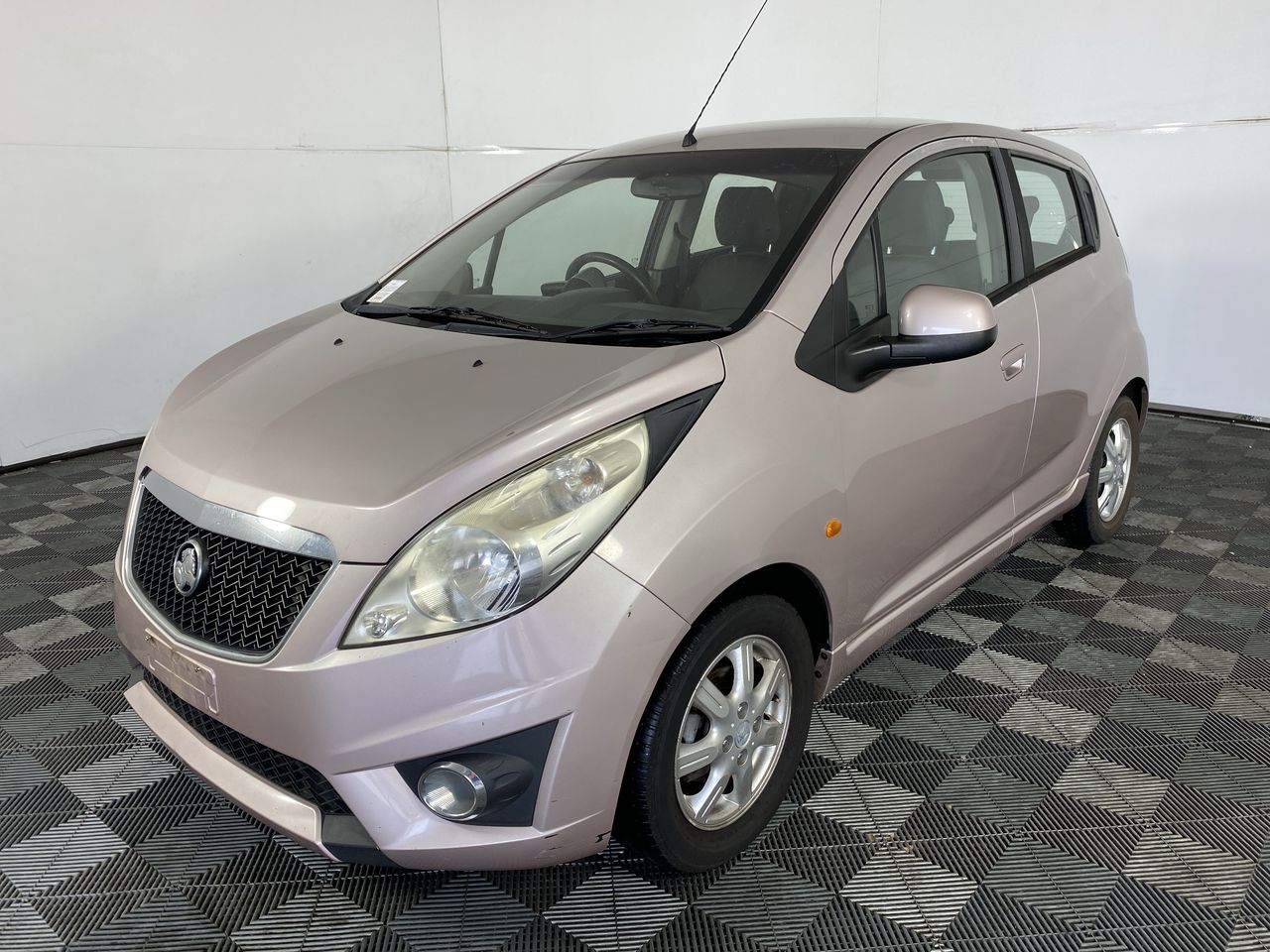 2010 Holden Barina Spark CD MJ Manual Hatchback