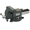 STANLEY Maxsteel 100mm Heavy Duty Bench Vice, Swivel and Lock Base. Buyers