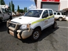 Toyota Hilux 4WD Manual Dual Cab Chassis