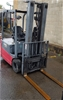 Nichiyu FBT18PN 70BC 500MSF Electric 3 Wheeled Counter Balance Forklift