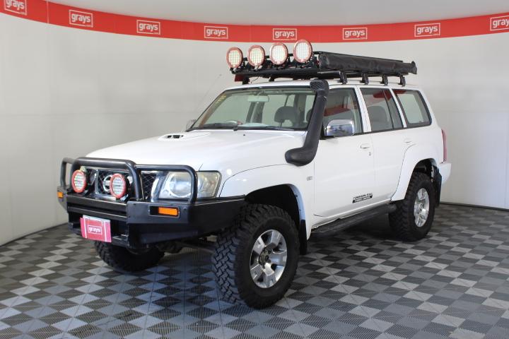 2010 Nissan Patrol DX (4x4) GU Turbo Diesel Automatic Wagon
