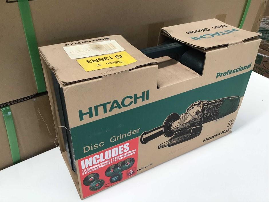 Hitachi G13SR3 Corded Angle Grinder