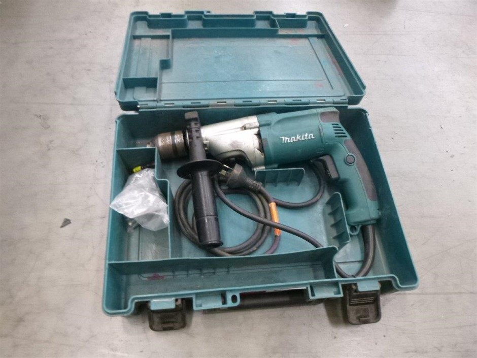 Makita Corded Hammer Drill with case