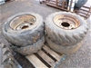 Skid Steer Rims and Tyres