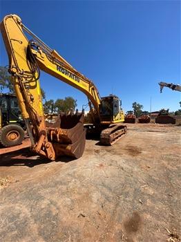 2018 Komatsu PC290LC Steel Tracked Excavator with Three Buckets