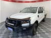 2017 Ford Ranger XL 4X4 PX II Turbo Diesel Automatic Crew Cab Chassis