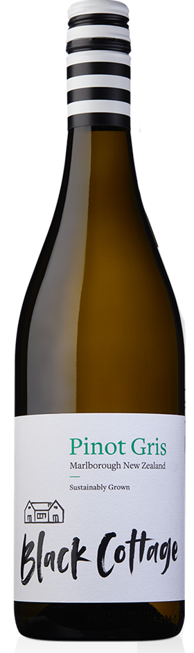 Black Cottage Pinot Gris 2020 (12x 750mL), Marlborough, NZ