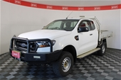 2015 Ford Ranger XL 4X4 PX II Turbo Diesel Manual Extra Cab