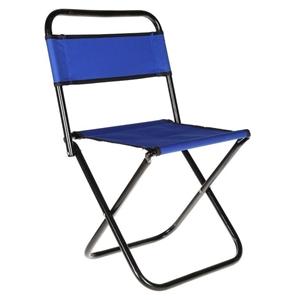 Mini Folding Camp Chair, Metal Frame, Ca