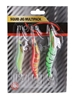 4 Sets of 3 Squid Jigs 3.5g, 3g & 2.5g. Buyers Note - Discount Freight Rate