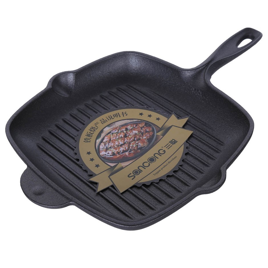 CAST Iron Griddle Pan 290mm x 430mm. Buyers Note - Discount Freight Rates A