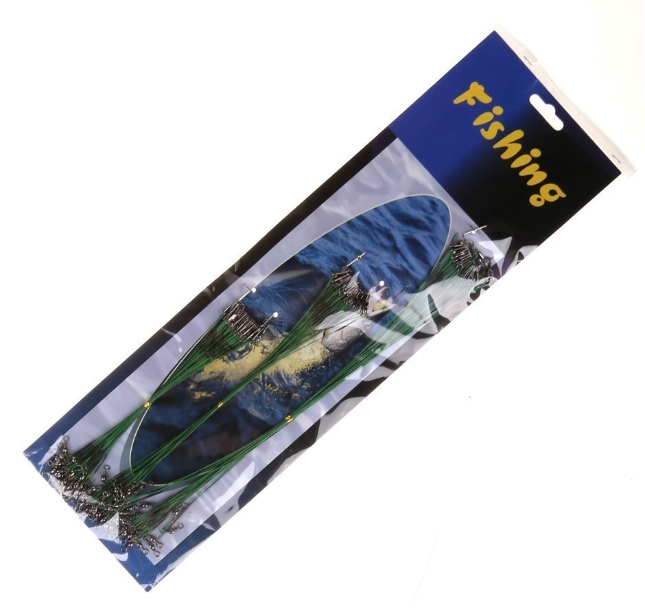2 x Fishing Trace Sets 72pcs, Sizes 15, 22 & 29cm. Buyers Note - Discount F