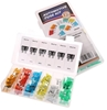 120pc Automotive Fuse Assortment Kit, Contents as per Image. Buyers Note -
