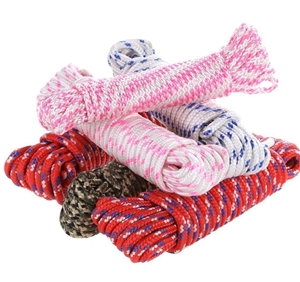 6 Hanks of 8M x Assorted Braided Ropes 6