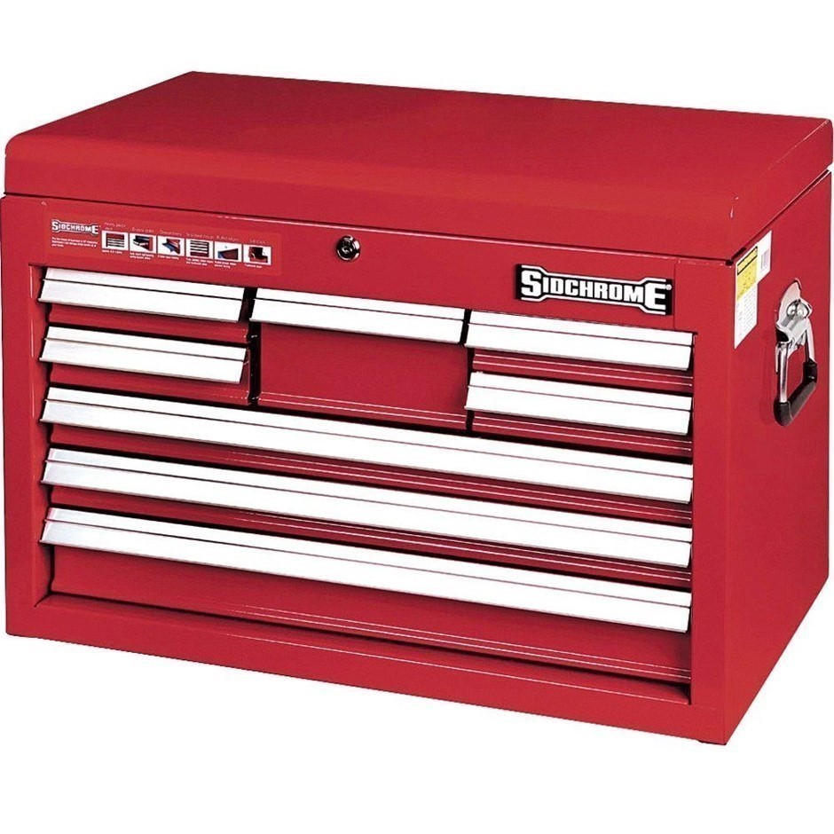 SIDCHROME 8-Drawer Tool Chest 663 x 335 x 438mm. (SN:SCMT50208) (278324-2)