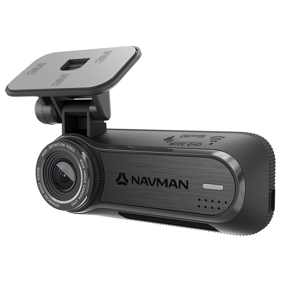NAVMAN MiVue Stealth Dashcam with 64GB MicroSD Card and Vehicle Adaptor. N.