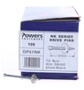 Pack of 100 x POWERS Drive Pins 57mm Shank. Suit Hilti DX450. Buyers Note -