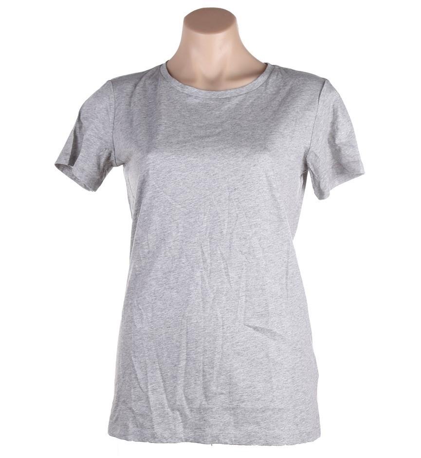 BUFFALO DAVID BITTON Women`s Metallic Plain T-Shirt, Size XL, 100% Cotton,