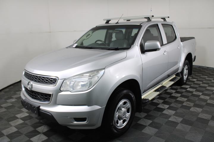 2015 Holden Colorado 4X4 LX RG Turbo Diesel Automatic Dual Cab